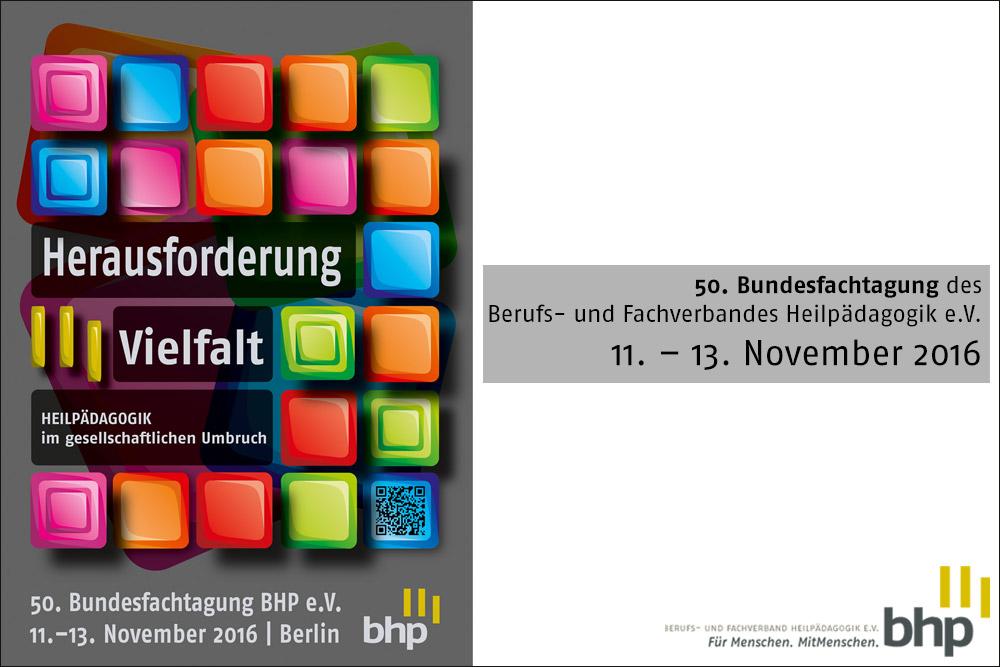 50. Bundesfachtagung des BHP e.V. 2016