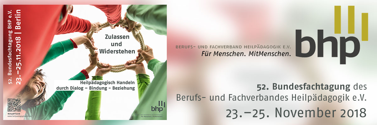 52. Bundesfachtagung des BHP e.V. | 23.-25.11.2017 | Berlin