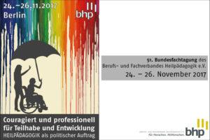 51. Bundesfachtagung des BHP e.V. 2017