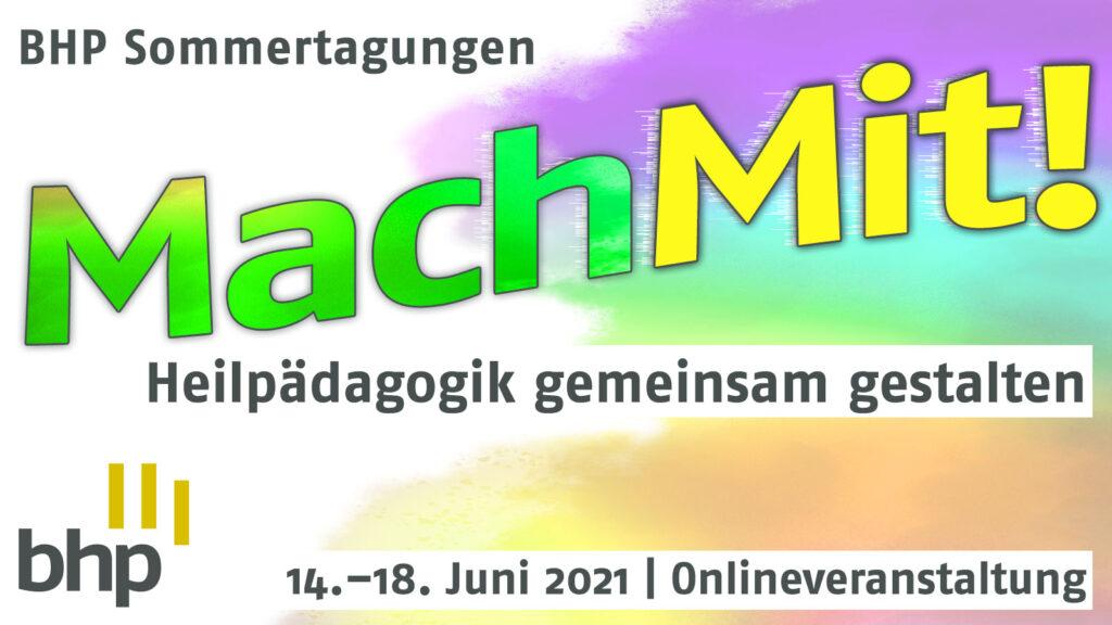 Plakat BHP Sommertagung 2021 | Juni